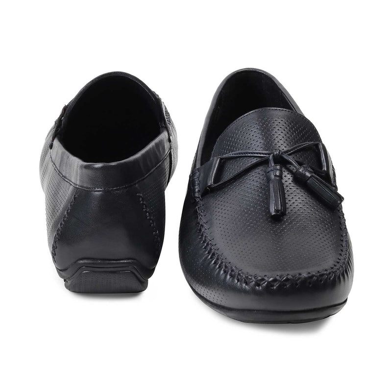 The Rotie Navy Driving Loafers