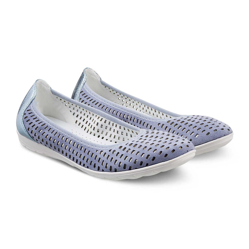 The Trogir Blue - Blue casual ballerinas - Tresmode