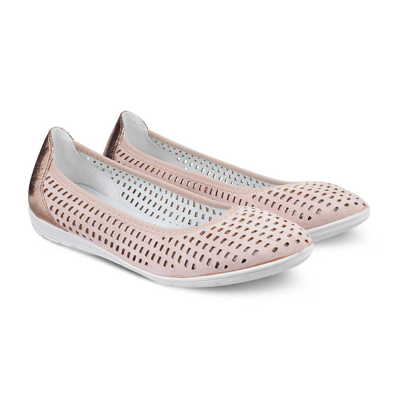 The Trogir Pink - Pink casual ballerinas - Tresmode