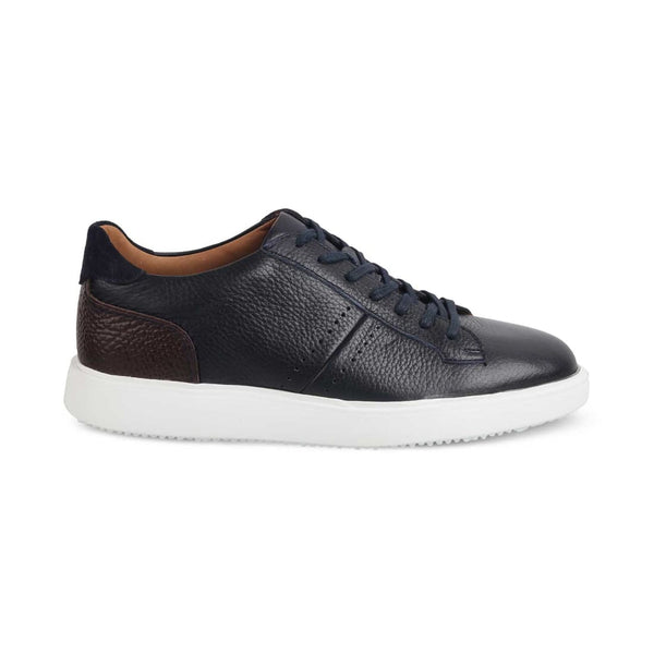 Blue Sneakers for Men-THE BABILA BLUE-Tresmode