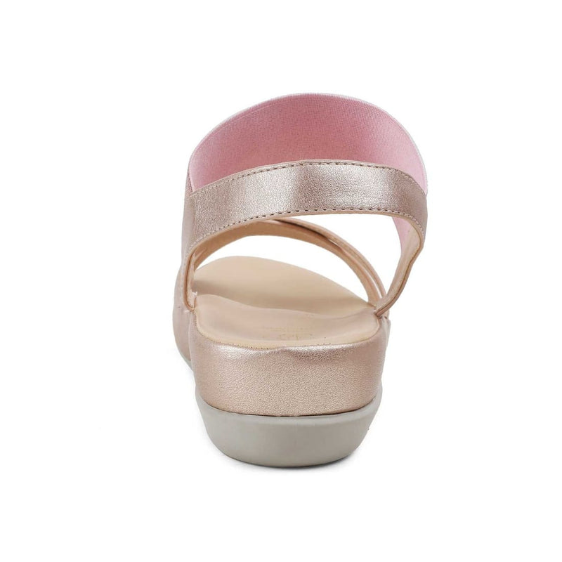 The Delphi Rose Gold Rose-gold casual sandals