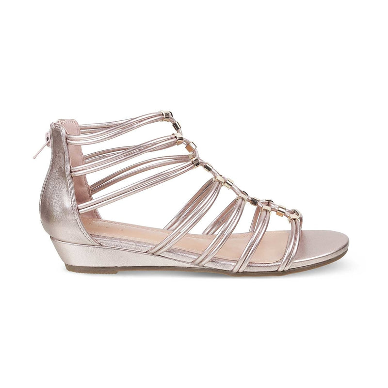 The Mora Pink Gladiator Sandals for Women