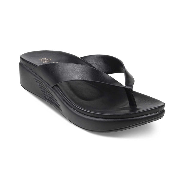 The Zlin Black Flats for Women