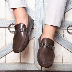 The Capri Brown - Brown Casual Loafers For Men - Tresmode