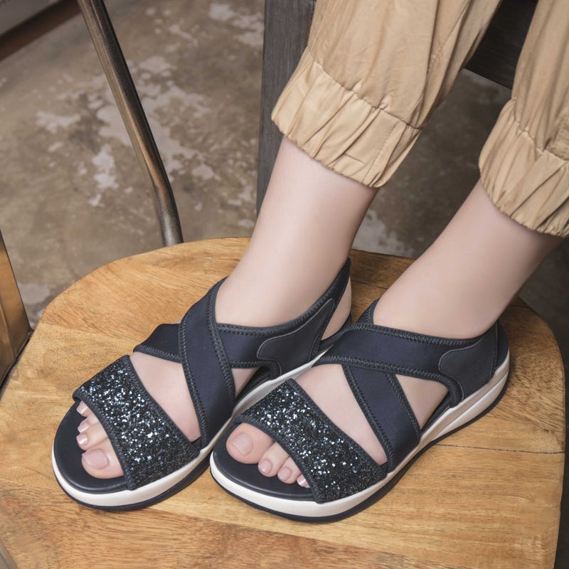 The Eretria Blue - Blue casual sandals - Tresmode