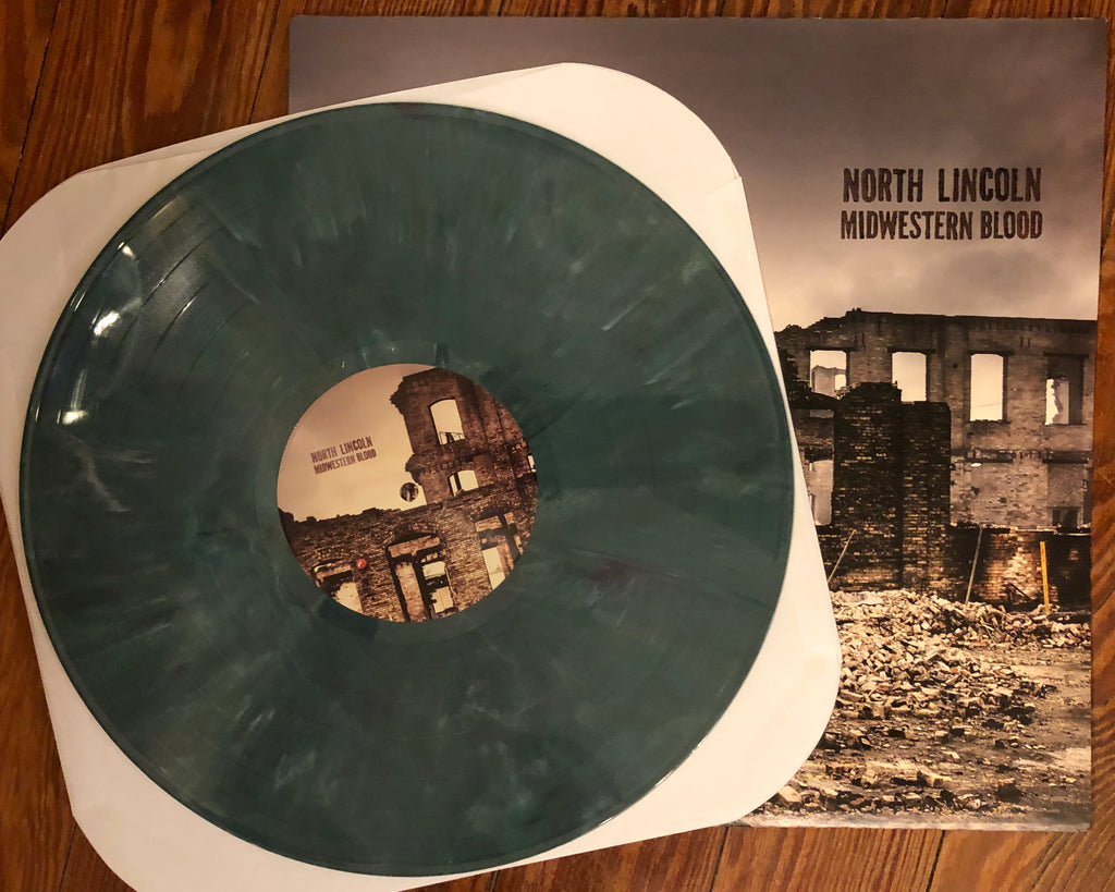 "NORTH LINCOLN ""Midwestern Blood"" COLORED VINYL"