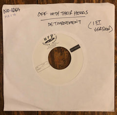 "OFF WITH THEIR HEADS / DETOURNEMENT ""Split"" TEST PRESSING"