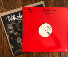 "WHISKEY & CO. ""Rust Colors"" TEST PRESSING"
