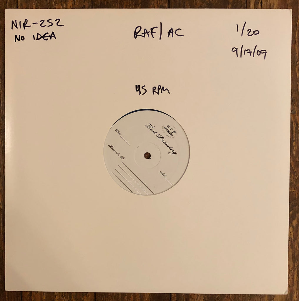 "AMERICAN CHEESEBURGER / RELIGIOUS AS FUCK ""Split"" TEST PRESSING"