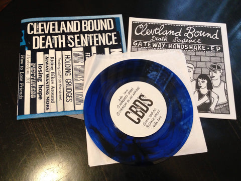 "CLEVELAND BOUND DEATH SENTENCE ""Gateway Handshake"" (OUT OF PRINT)"