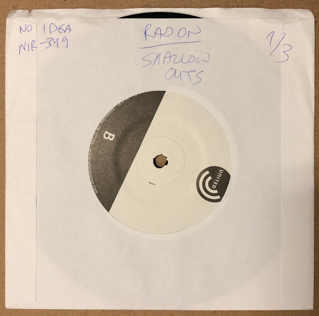 "RADON / SHALLOW CUTS ""Split"" TEST PRESSING"