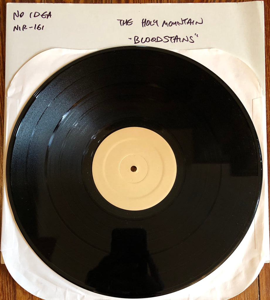 "HOLY MOUNTAIN, THE ""Bloodstains Across Your Face"" TEST PRESSING"