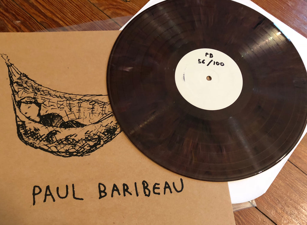 "PAUL BARIBEAU ""Paul Baribeau"" LTD. SCREENPRINTED COVER"