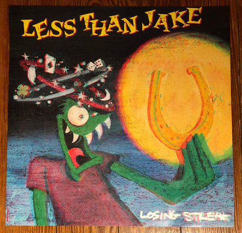 "LESS THAN JAKE ""Losing Streak"" Promotional Flat"