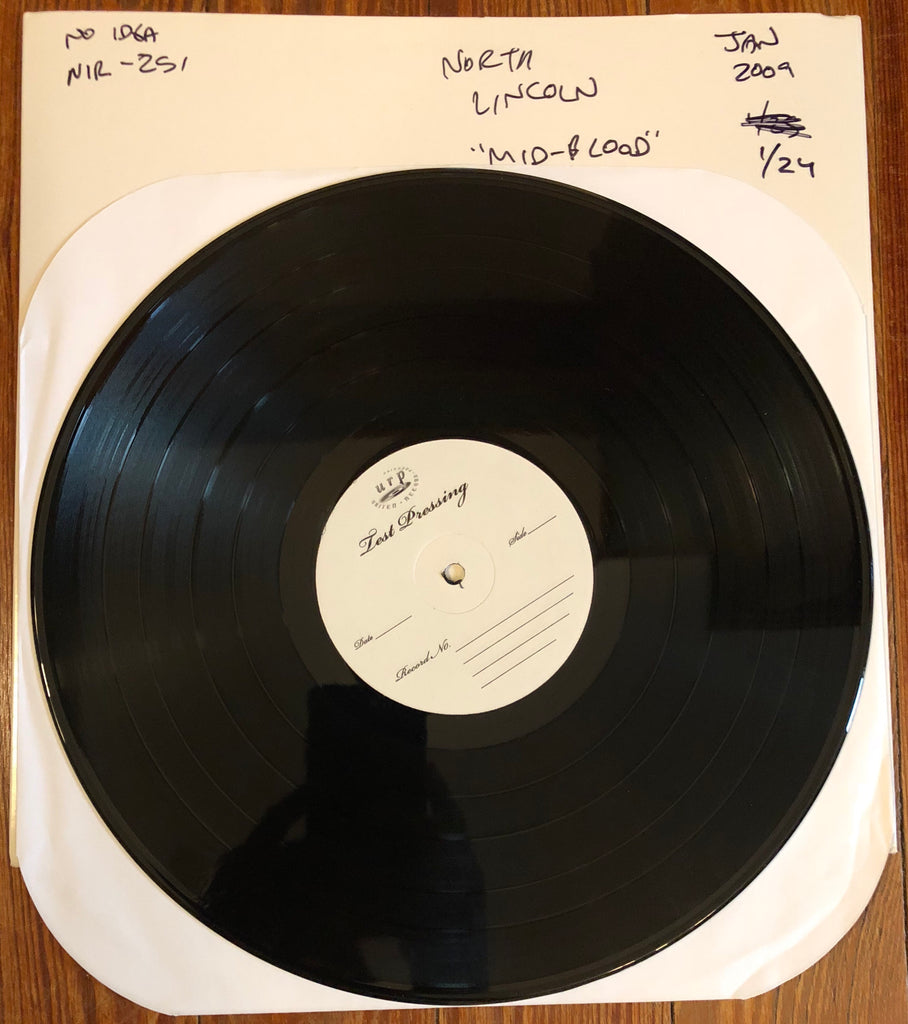 "NORTH LINCOLN ""Midwestern Blood"" TEST PRESSING"