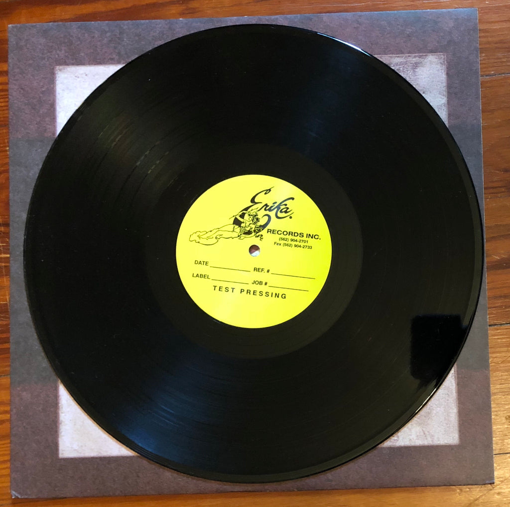 "SMALL BROWN BIKE ""Our Own Wars"" TEST PRESSING"