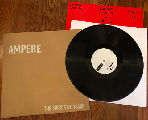 "AMPERE ""The First Five Years"" TEST PRESSING"