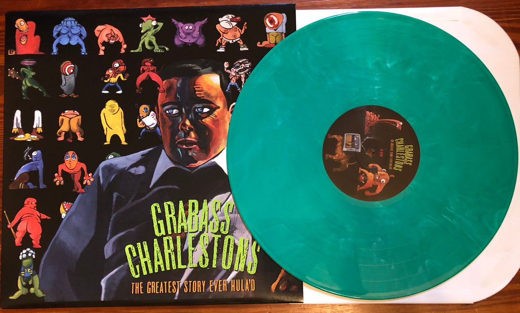 "GRABASS CHARLESTONS ""The Greatest Story Ever Hula'd"" COLORED VINYL"
