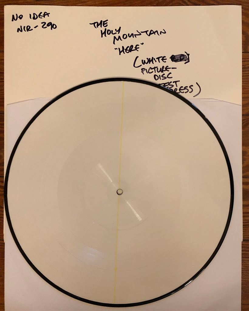 "HOLY MOUNTAIN, THE ""Here Is No Exit"" Picture Disc TEST PRESSING"