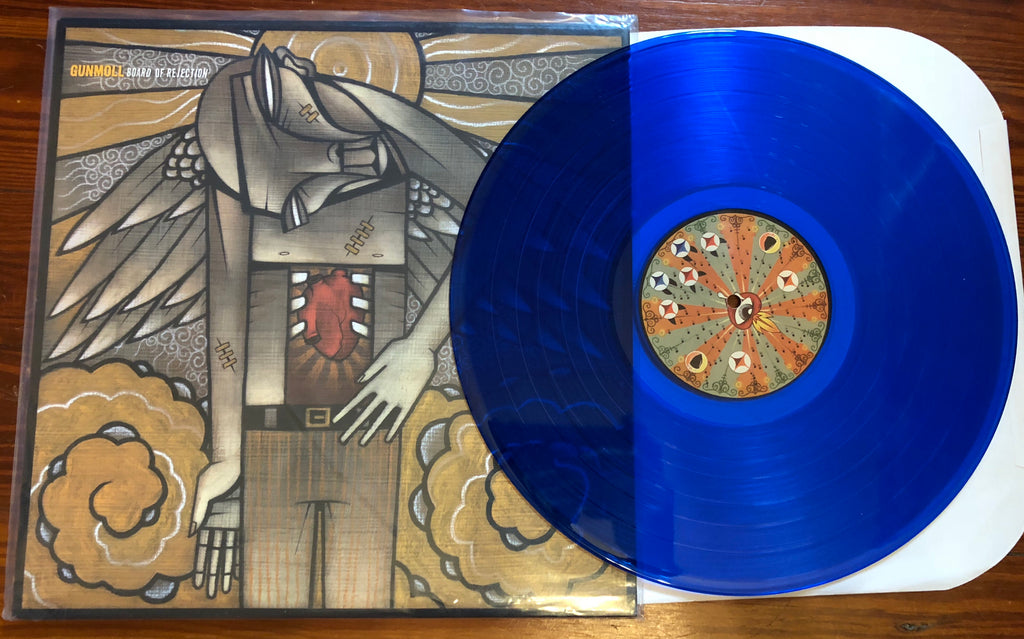 "GUNMOLL ""Board Of Rejection"" COLORED VINYL"