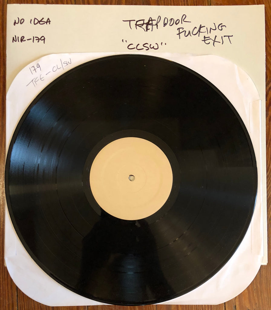 "TRAPDOOR FUCKING EXIT ""Crooked Life / Straight World"" TEST PRESSING"