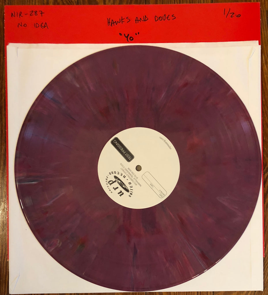 "HAWKS AND DOVES ""Year One"" TEST PRESSING"