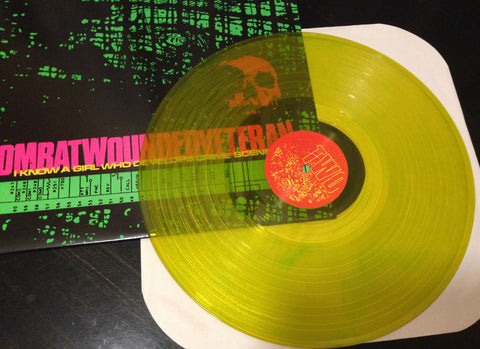"COMBAT WOUNDED VETERAN ""I Know..."" (2nd Pressing PEE COLORED Vinyl)"