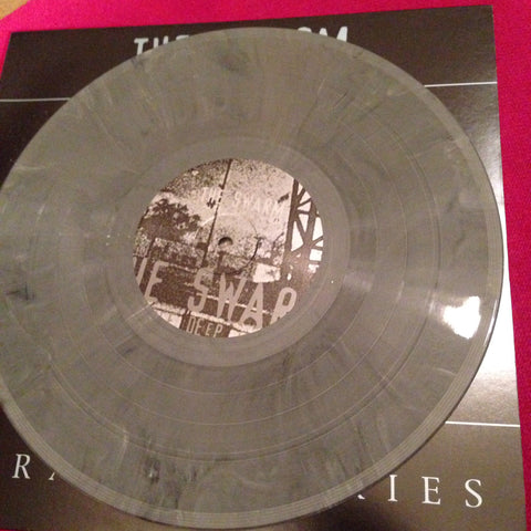 "SWARM A.K.A. KNEE DEEP IN THE DEAD ""Parasitic Skies"" GREY VINYL"