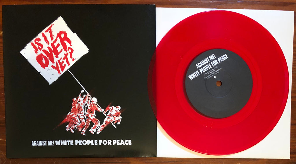 "AGAINST ME! ""WHITE PEOPLE FOR PEACE"""