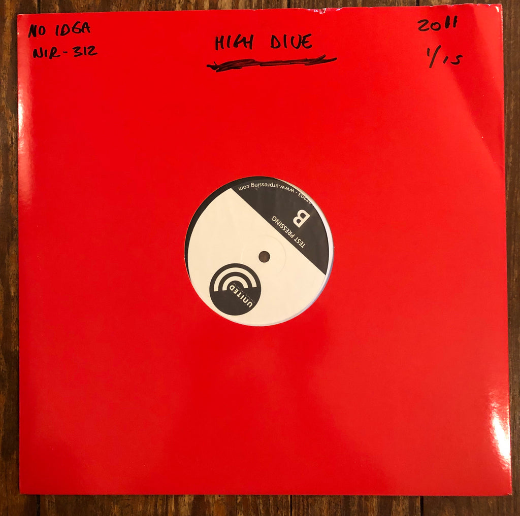 "HIGH DIVE ""S/T"" TEST PRESSING"