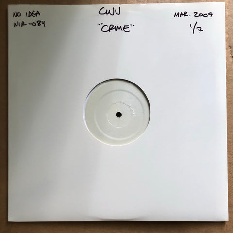 "COMBAT WOUNDED VETERAN ""I Know A Girl Who Develops Crime Scene Photos"" TEST PRESSING"
