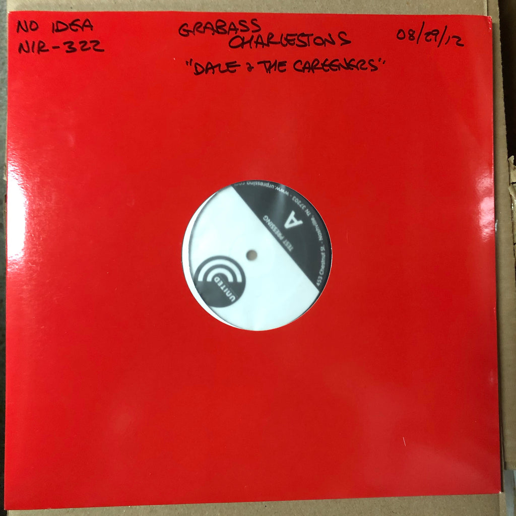 "GRABASS CHARLESTONS ""Dale And The Careeners"" TEST PRESSING"