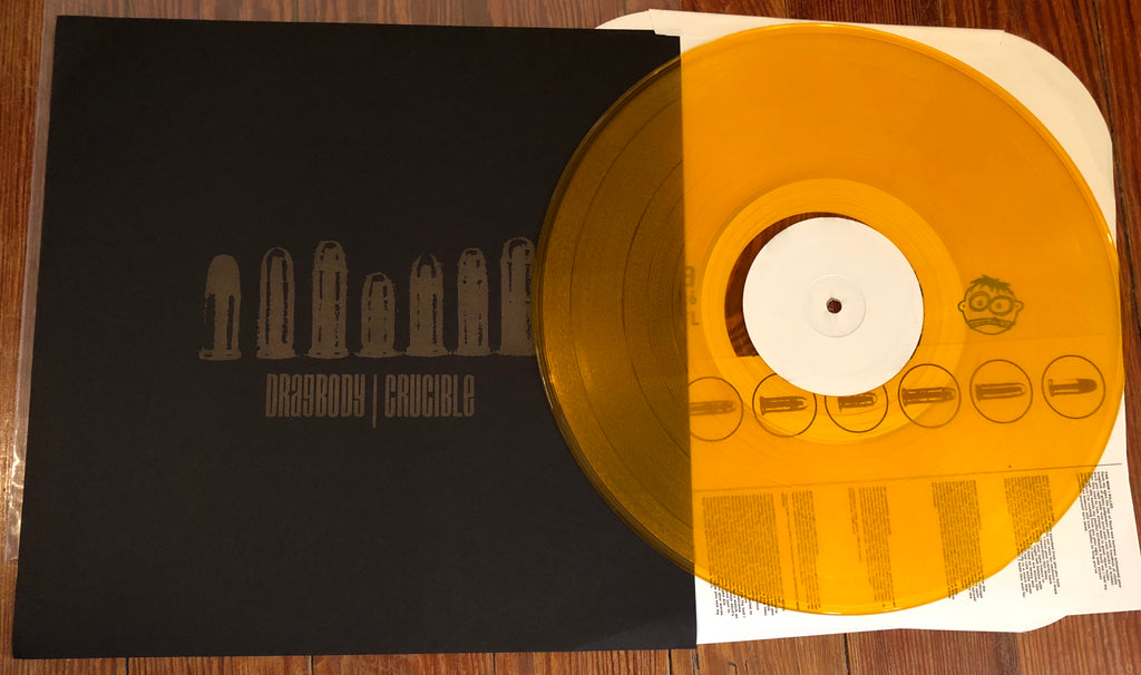 "DRAGBODY / CRUCIBLE ""Split"" LP COLORED VINYL"