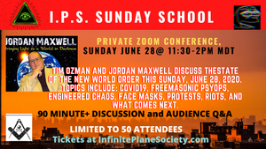 I.P.S. SUNDAY SCHOOL WITH JORDAN MAXWELL 6/28/2020