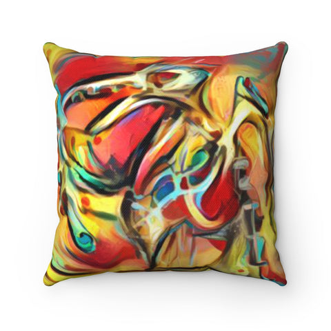 IPS Ozman-Osman Collection: Spun Polyester Square Pillow