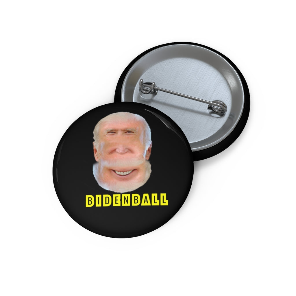 BIDENBALL Custom Pin Buttons