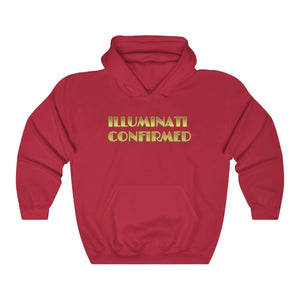 ILLUMINATI CONFIRMED, Unisex Heavy Blend™ Hooded Sweatshirt #illuminati