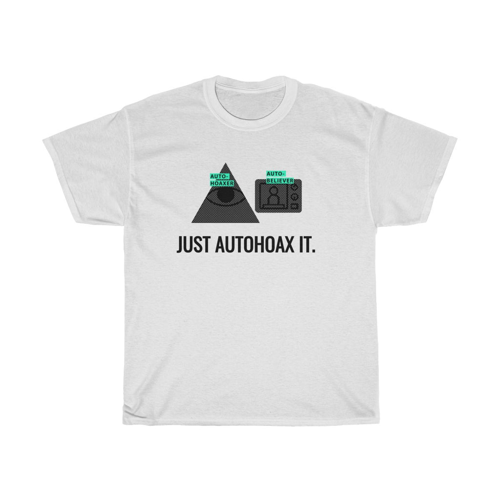 Autohoax vs Autobeliever / Unisex Heavy Cotton Tee