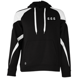 Mark of the Beast,  Colorblock Hoodie  #MaskOfTheBeast