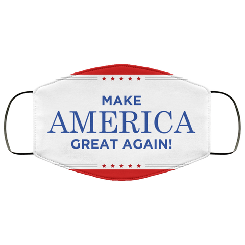 MAKE AMERICA GREAT AGAIN, fma Face Mask