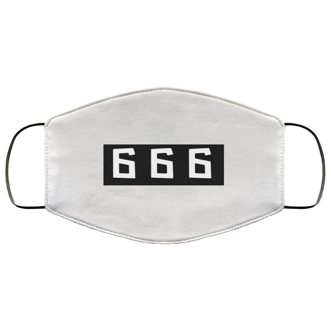 666, Mark of the Beast, FMA Face Mask,   #MASKofTheBEAST