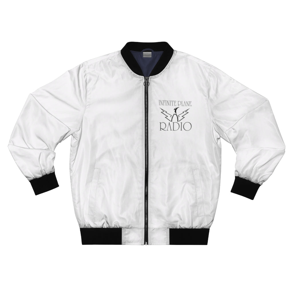 INFINITE PLANE RADIO/  Men's AOP Bomber Jacket