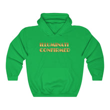 Load image into Gallery viewer, ILLUMINATI CONFIRMED, Unisex Heavy Blend™ Hooded Sweatshirt #illuminati