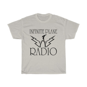 Infinite Plane Radio//    Unisex Heavy Cotton Tee