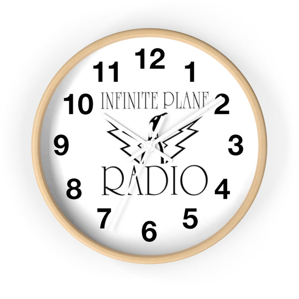 INFINITE PLANE RADIO, PENGUIN CLOCK, Copy of Unicursal Cat Sketch, One Line Drawing, Tim Ozman Wall clock