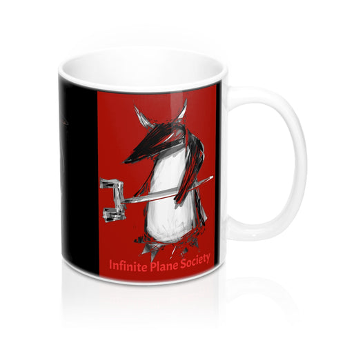 PENGUIN with WRENCHE, IPS,  #spod #stormantarctica/ Mug 11oz