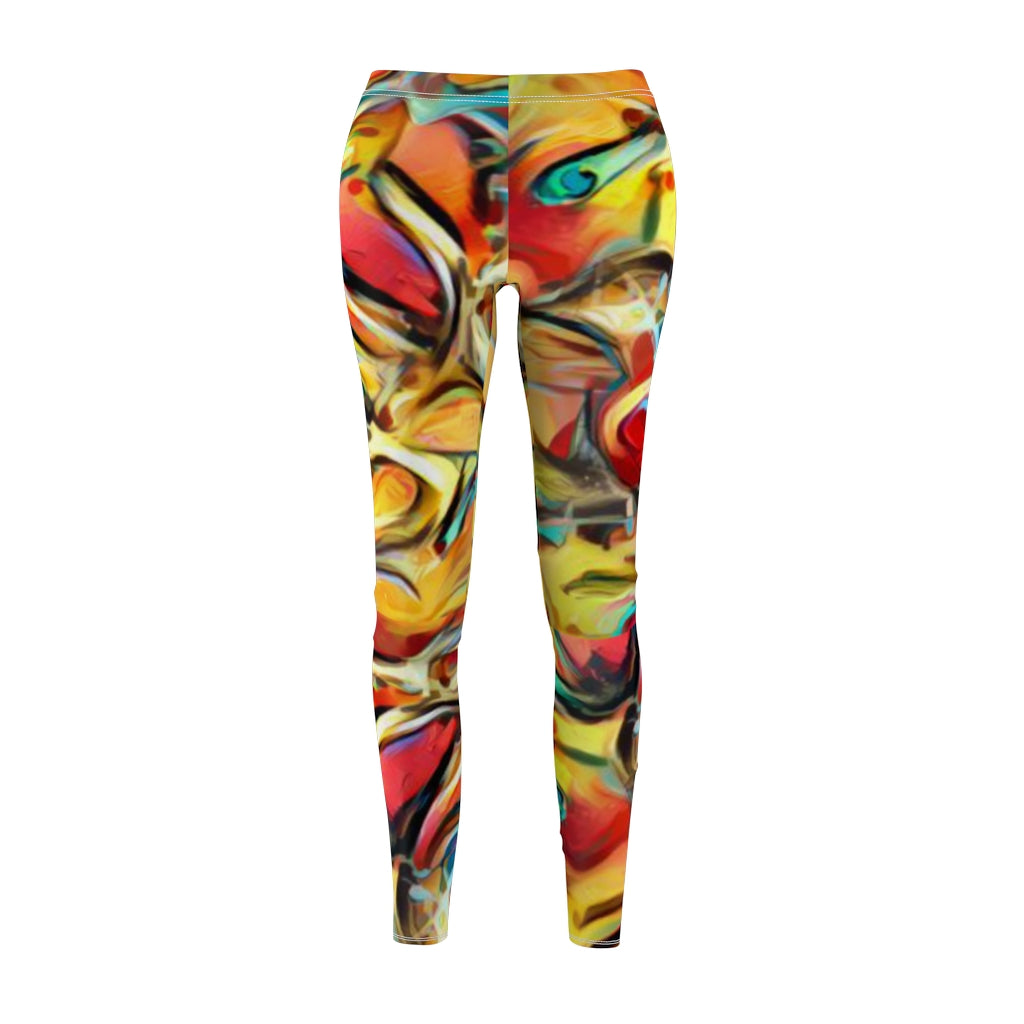 #IPS Ozman-Osman Collection: Women's Cut & Sew Casual Leggings