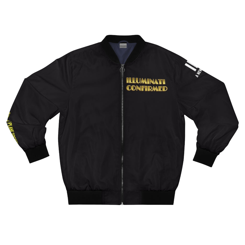 Infinite Plane Society, IPS, A New ILLUMINATI, Men's AOP Bomber Jacket