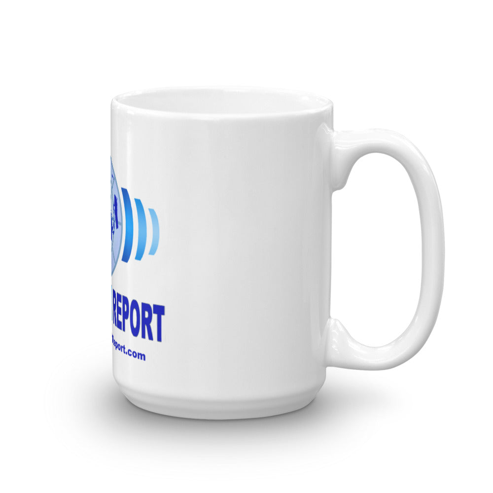 Flat Earth Report Mug