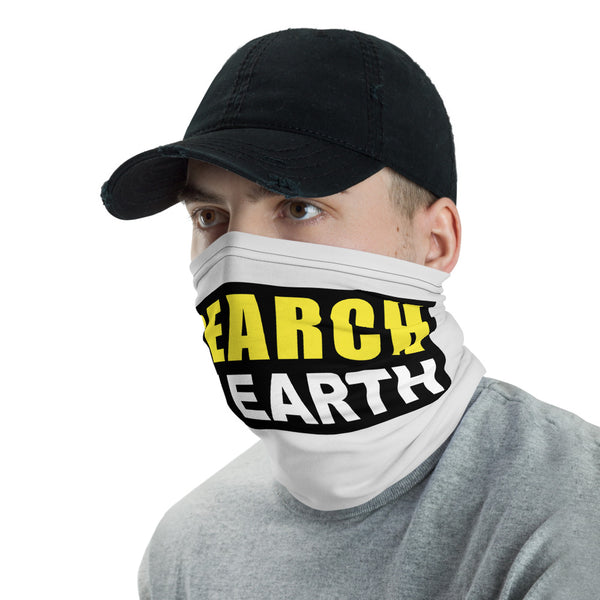 Research Flat Earth,   #ResearchFlatEarth, #facemask, IPS Neck Gaiter